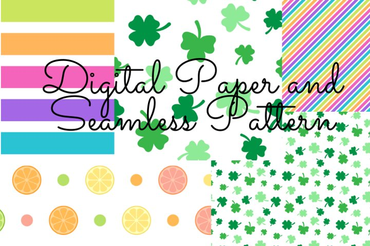 Digital Paper and Seamless Pattern