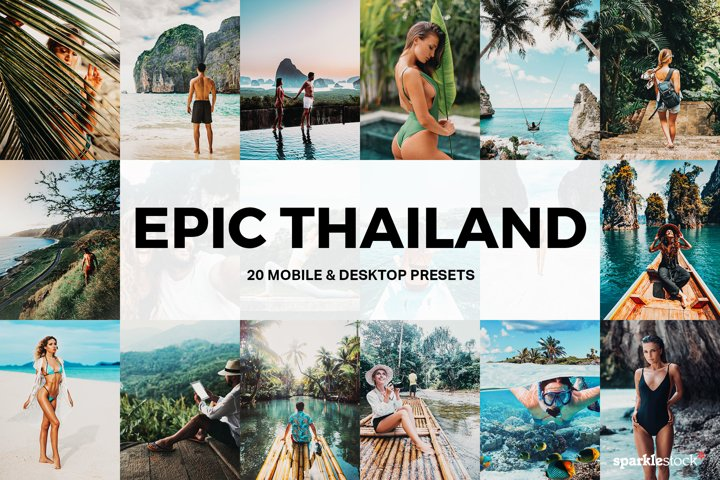 20 Epic Thailand Lightroom Presets and LUTs