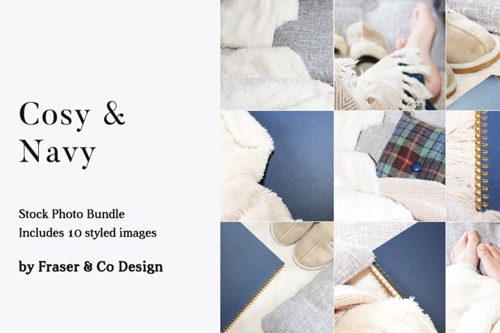 Cosy & Navy - Stock Photo Bundle