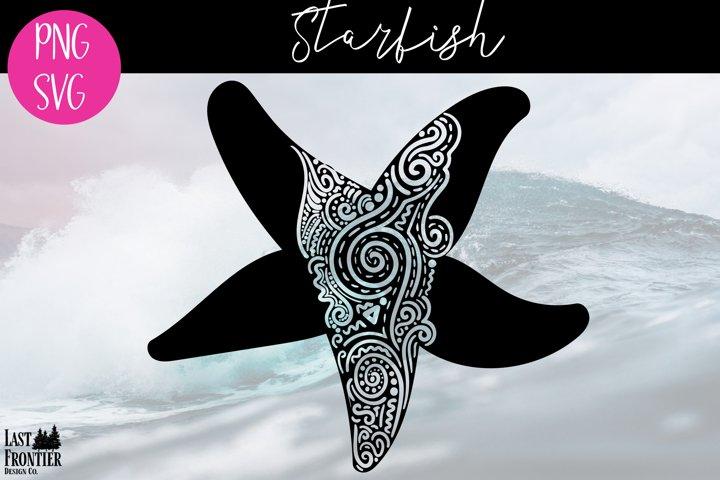 Starfish Zentangle
