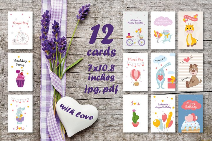 Birthday Cards / Party / Valentines Day Cards