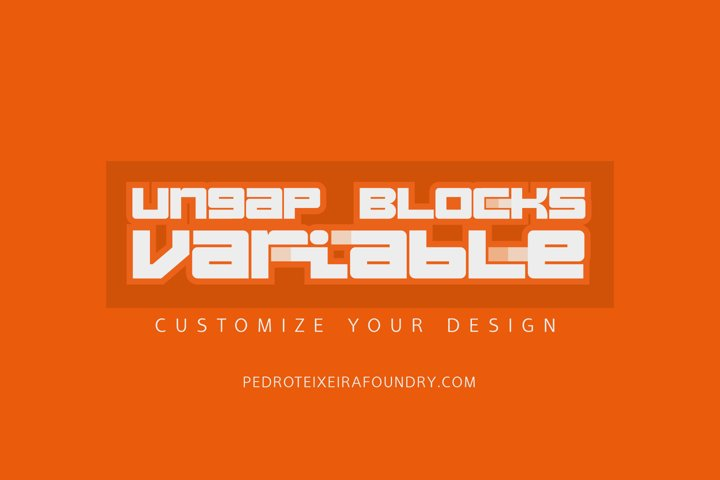 Ungap Blocks Variable