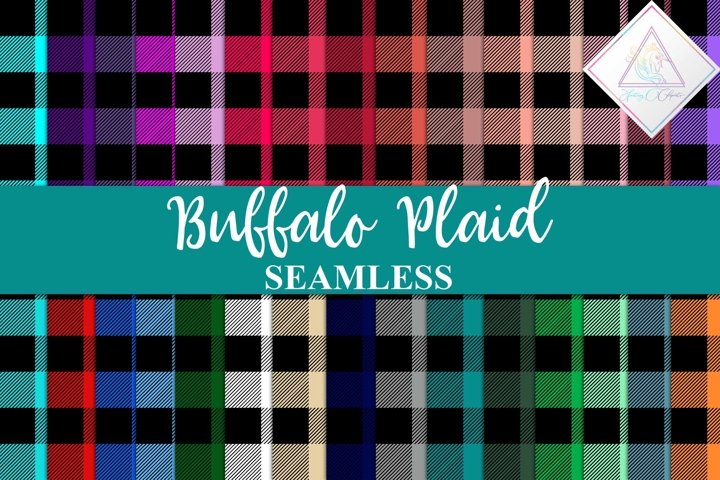Buffalo Plaid Digital Paper