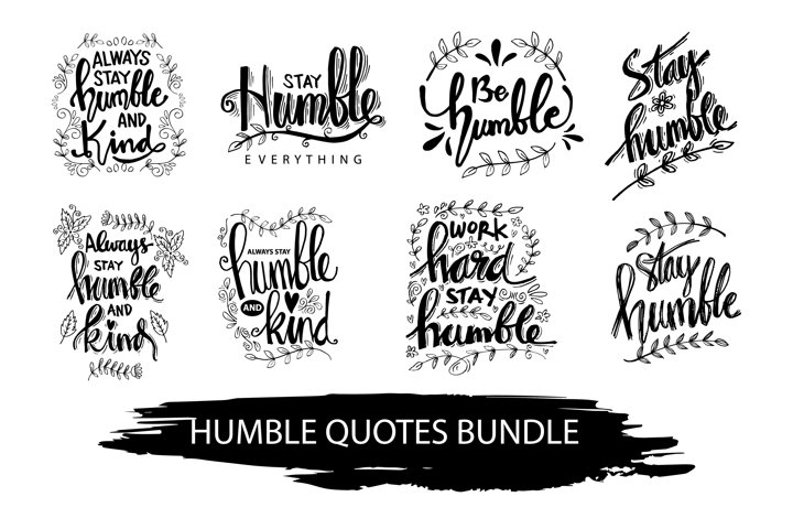Humble inspirational quotes