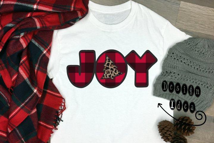 JOY w/ Tree