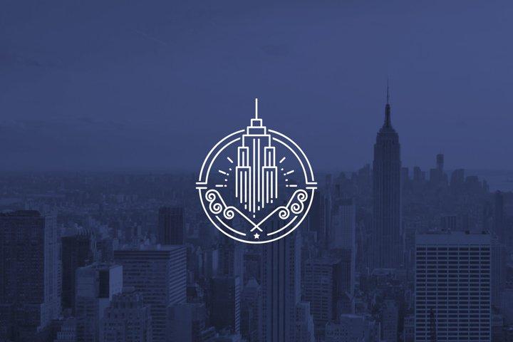 High Tower Logo - Construction Building Logo