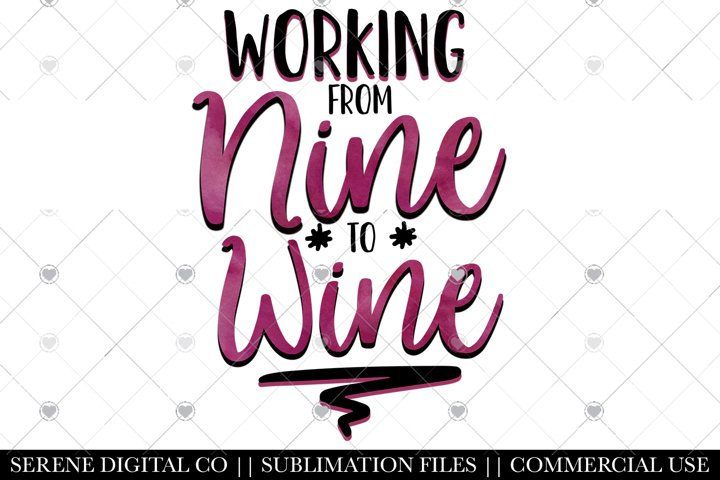 Funny Wine Sublimation File - Wine PNG For Tumblers, Mugs