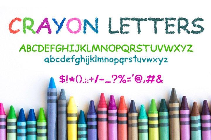 Crayon Letters Font