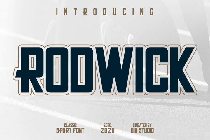 Rodwick-Classic Sport Font