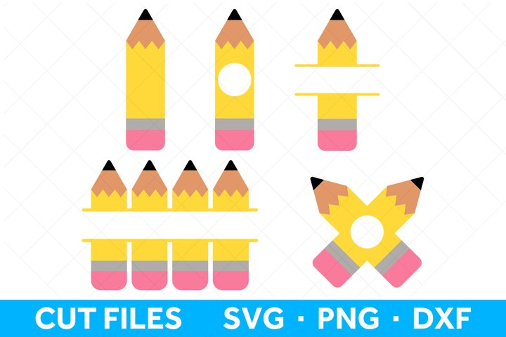 Pencil SVG Files for Cricut and Silhouette Pencil SVG Bundle