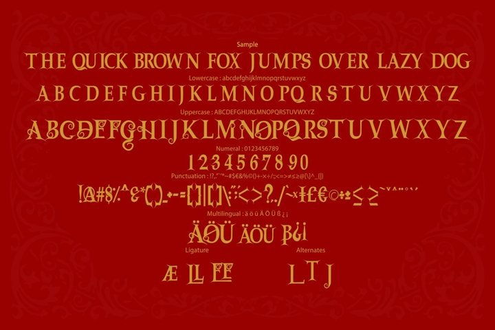 Dragon | Victorian Font Typeface - Free Font Of The Week Design3