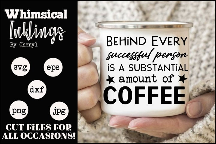 Substantial Amount Of Coffee SVG