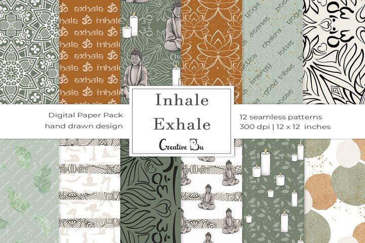 Inhale Exhale- Digital Basic Pattern