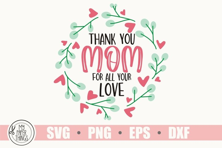 Mother's day svg, Mom life svg example