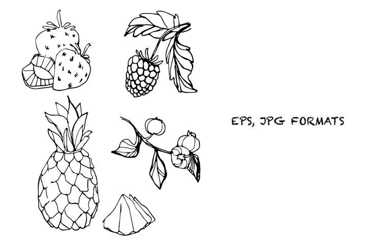Fruits elements