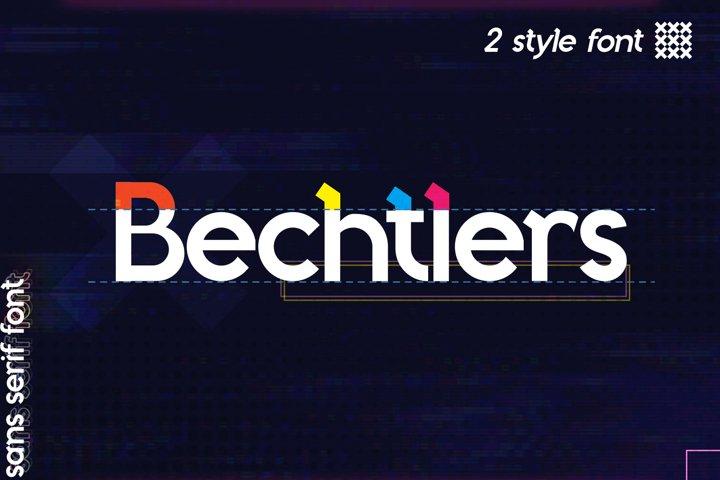 Bechtlers Sans Serif