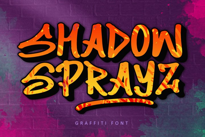 Shadow Sprayz