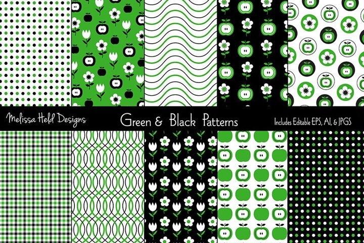Green Apples & Plaid Patterns