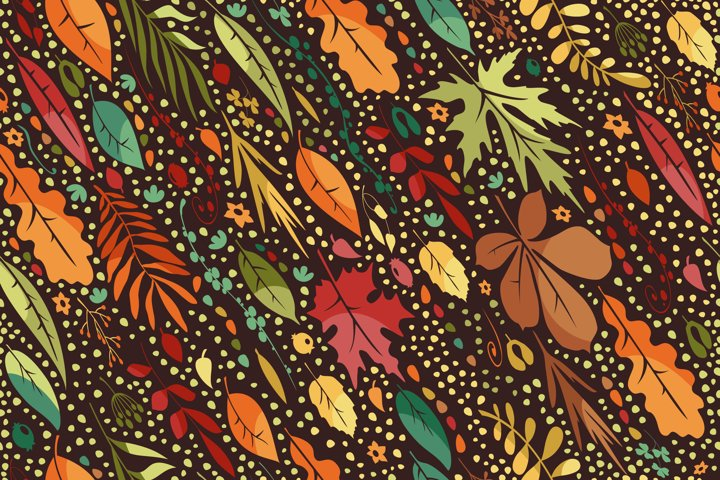 Leaf Fall Pattern