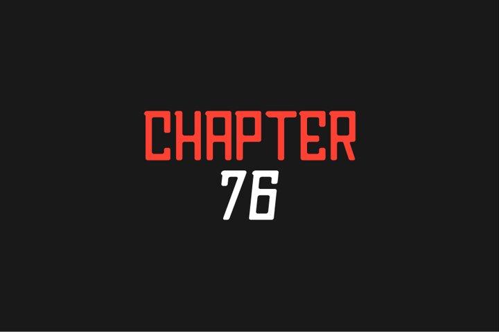 Chapter76 Sans Font