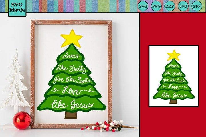 Christian Christmas SVG, Religious Christmas SVG, Jesus SVG