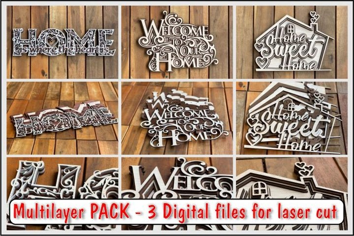 Multilayer Pack HOME