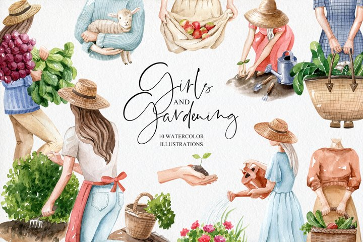 Girls and Gardening