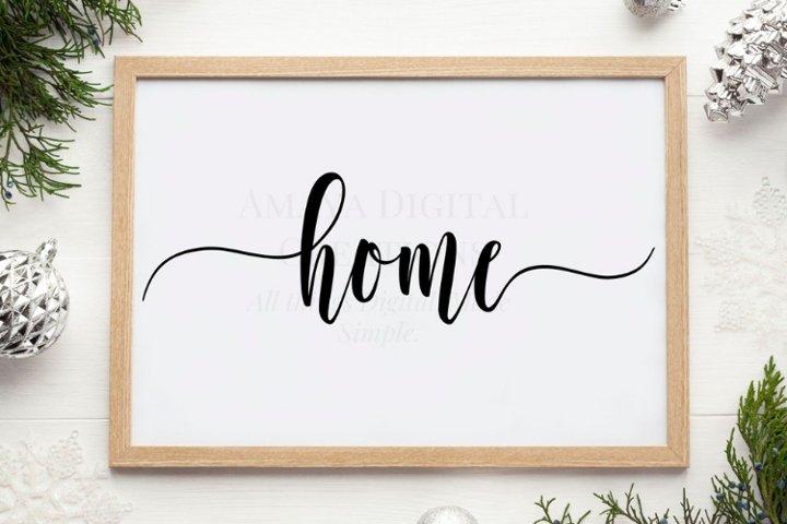 Love SVG,Home Sign SVG,Rustic Home Sign