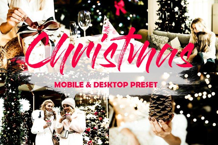 3 Mobile Lightroom Christmas Presets