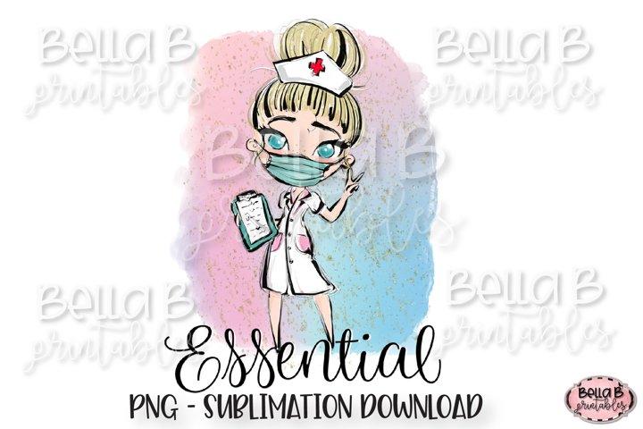 Essential Worker Sublimation Design, Essential Employee