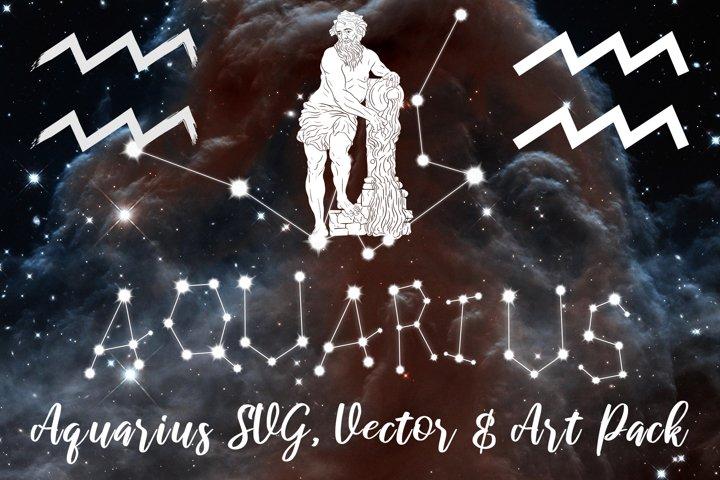 Aquarius Zodiac, Constellation, Horoscope Pack