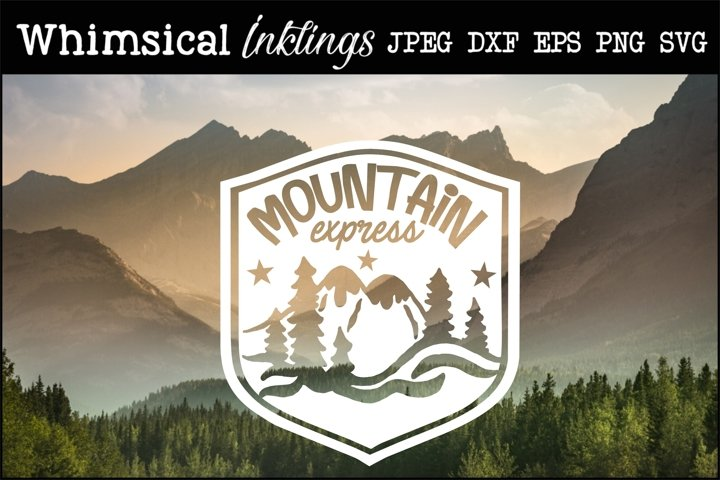 Mountain Express SVG