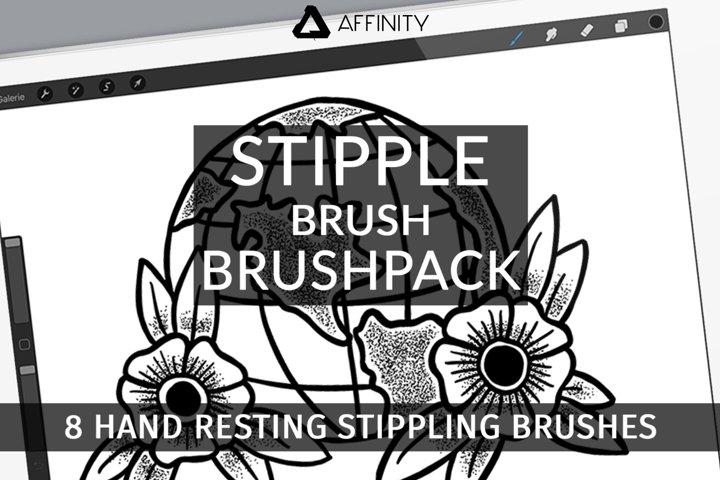 Stipple Brush Brushpack for Affinity