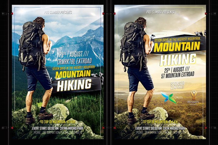 Hiking Flyer