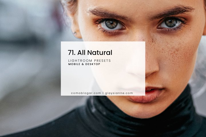71. All Natural - Presets
