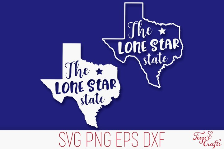 Texas SVG Cut File | Lone Star State SVG