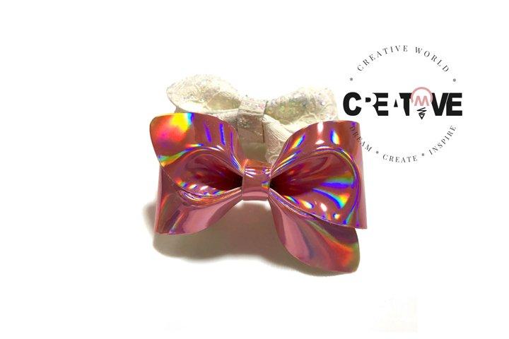 New Cute Mini Pinch Hair Bow Digital Template   CWC138