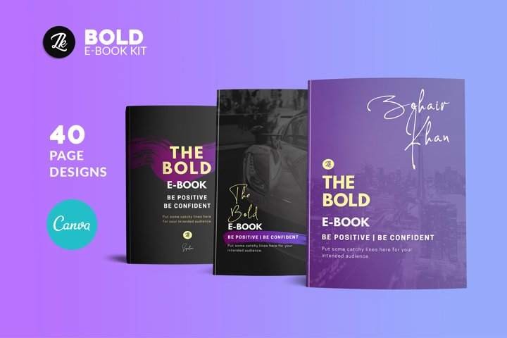 Canva Bold eBook Kit