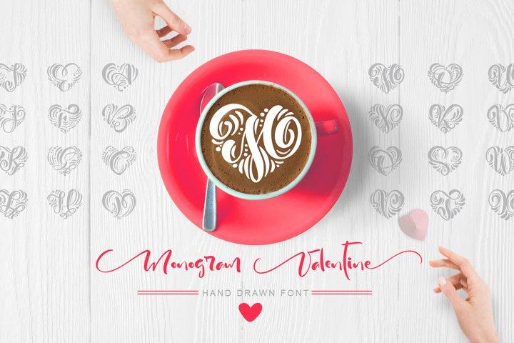 Monogram Valentine Font