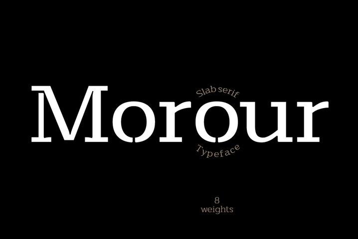 Morour Typeface