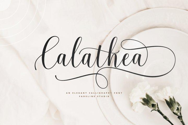 Calathea - Elegant Calligraphy Font
