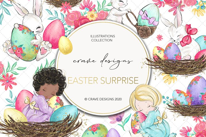 Easter Surprise Clip Art