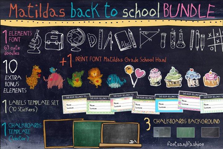 Matildas Back To School_Bundle