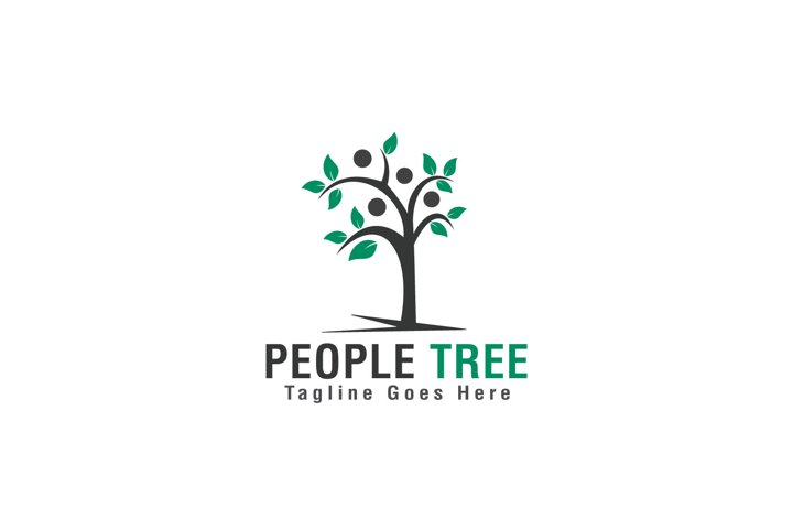 People Tree Logo Design.