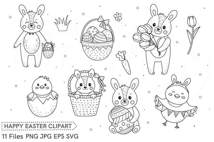 Clip art Happy Easter