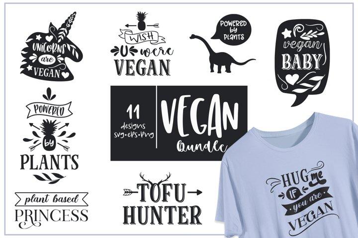 Vegan Bundle. SVG, EPS, PNG