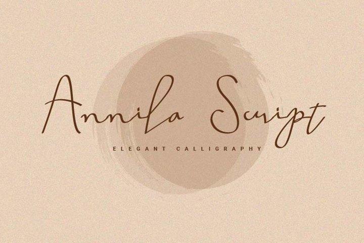 Annila Script
