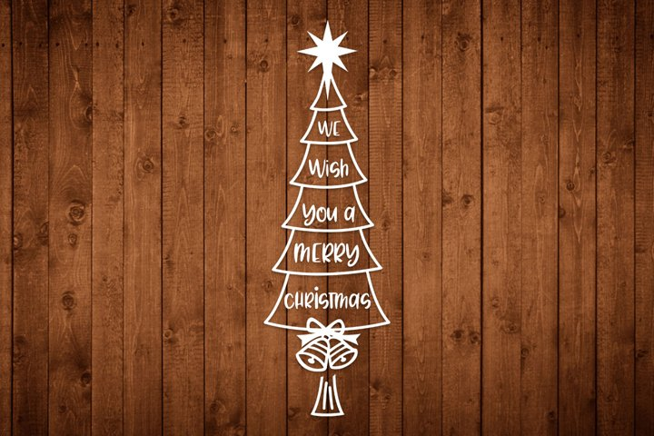 We Wish You A Merry Christmas, Svg, Png, Dxf, Eps cut files