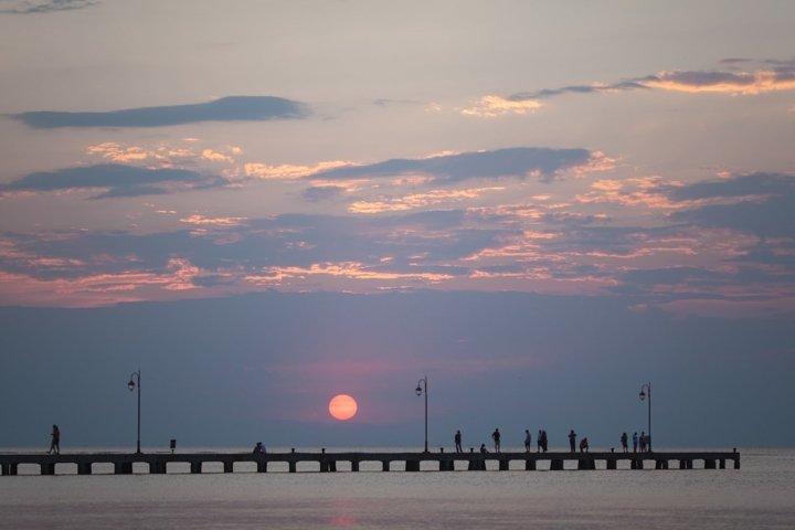 A city pier