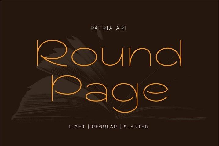 Round Page